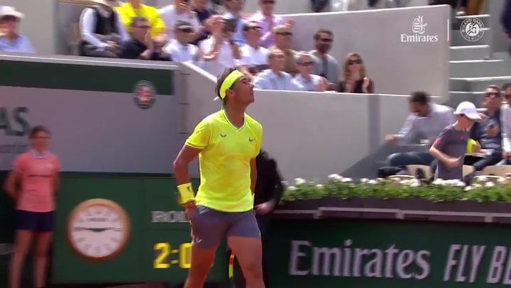 Rafa Nadal gana en tres sets a Yannick Maden y pasa a tercera ronda de Roland Garros