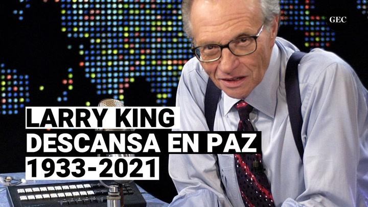 Larry King, el emblemático entrevistador de EE.UU falleció de Covid-19 este es su resumen profesional