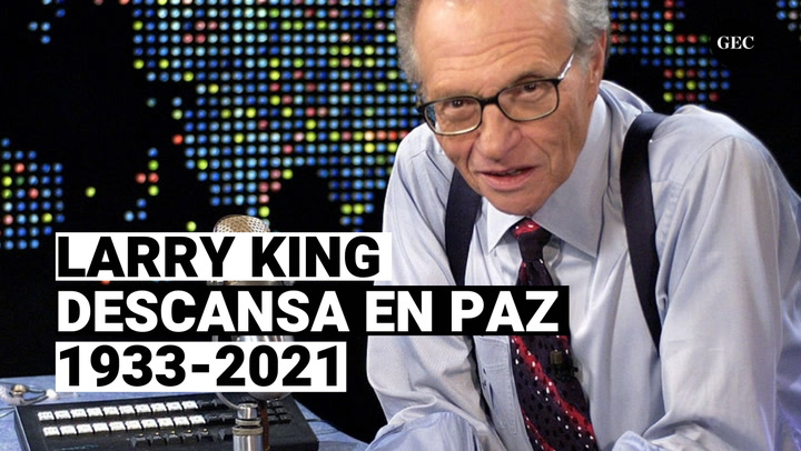 Larry King: Falleció a sus 87 a causa de Covid-19, esta es su trayectoria profesional.