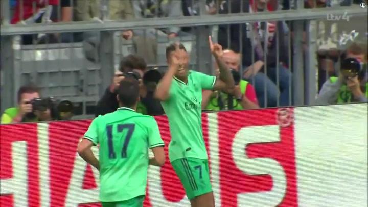 Último gol de Mariano Díaz en un amistoso de pretemporada ante el Fenerbahce