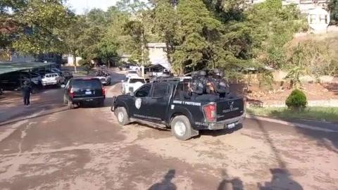 Autoridades llevan a Martín Adolfo Díaz Contreras a su primera audiencia de extradición
