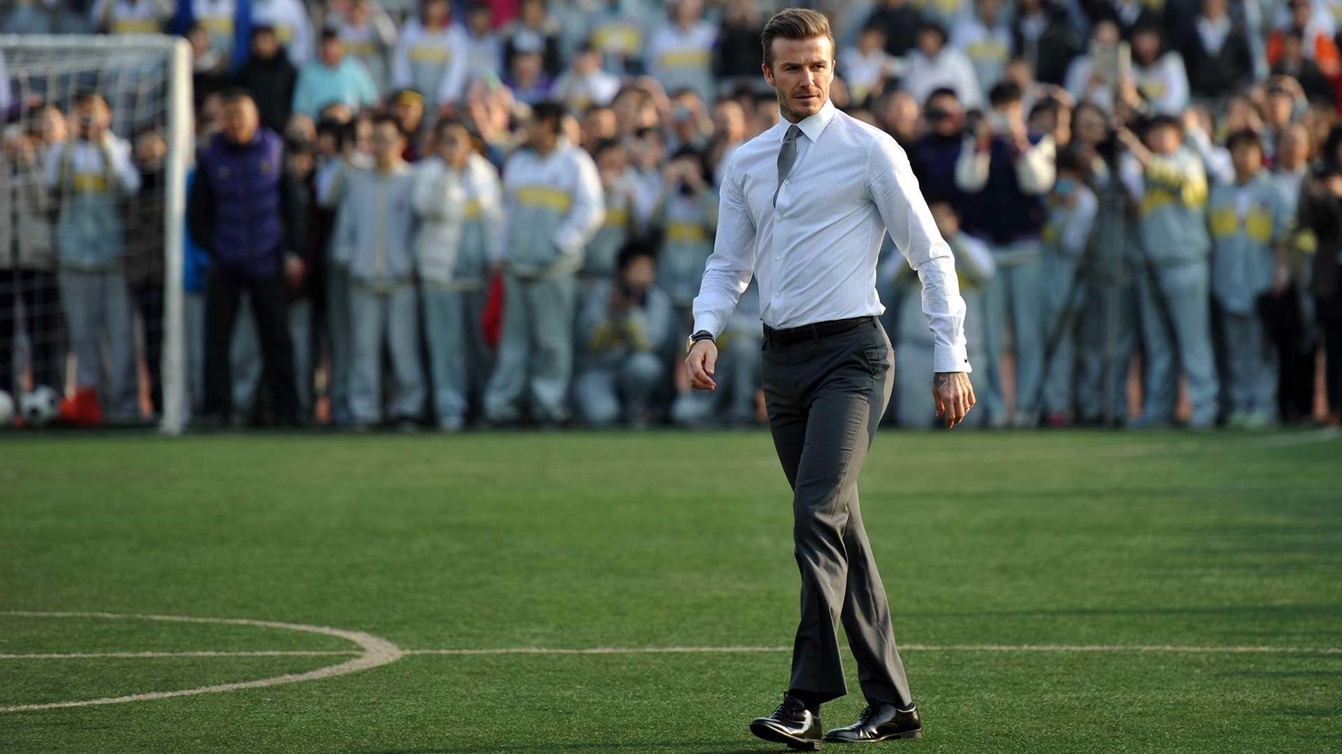 David Beckham, un sueño de niño cumplido