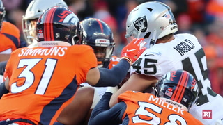 Raiders' season ends with loss to Broncos, 16-15 – Video
