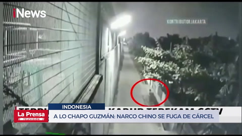 A lo Chapo Guzmán: Narco chino se fuga de cárcel por tunel