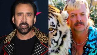 Nicolas Cage to portray Joe Exotic in 'Tiger King' TV adaption – VIDEO