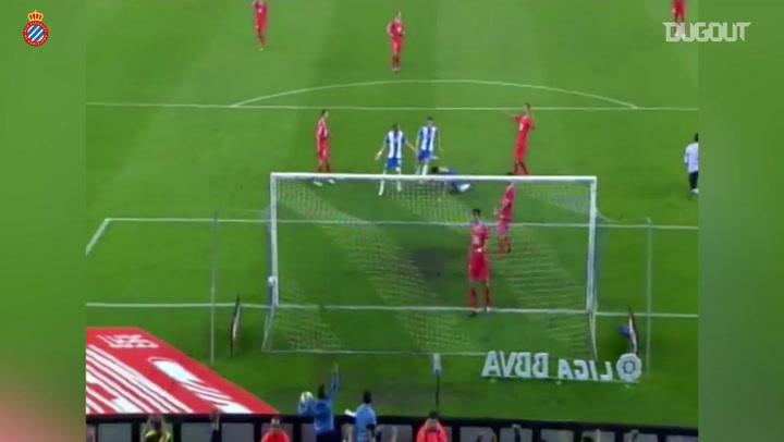 Philippe Coutinho se despede do Espanyol com golaço contra o Sevilla