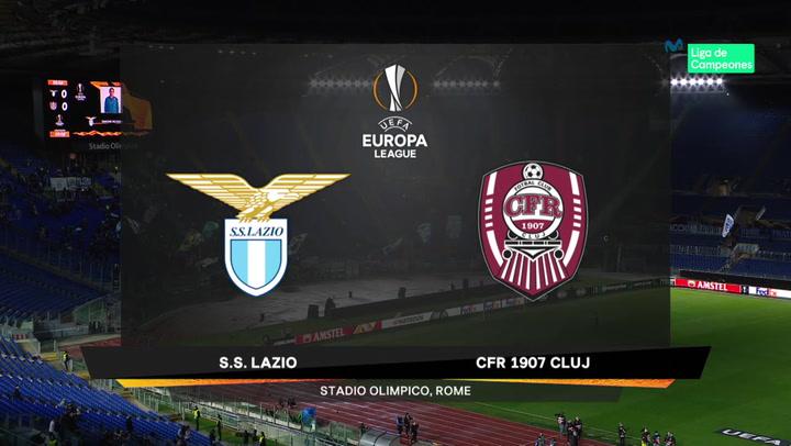 Europa League Resumen y Goles del Lazio-Cluj