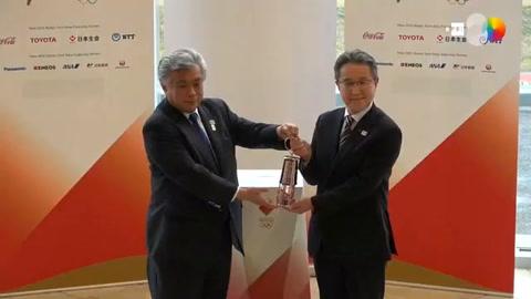Tokio 2020 cede la llama olímpica a Fukushima como