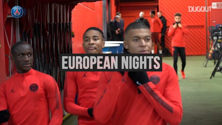 European Nights: PSG Train At Old Trafford