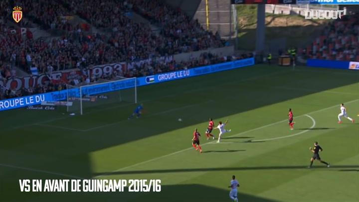 Los cinco mejores goles de Bernardo Silva con el AS Monaco