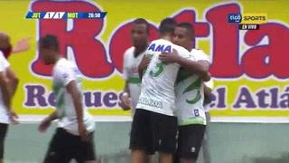 ¡Golazo de Juticalpa! Óscar Salas hace el empate 1-1 ante Motagua