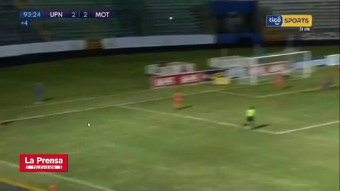 El gol agónico de Klusener que le dio el triunfo al Motagua ante la UPN