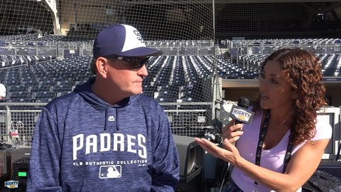 Darren Balsley on Padres pitching staff and Eric Lauer