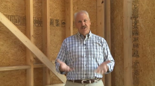 Energy heel trusses make room for attic insulation