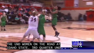 UND women win fifth consecutive game