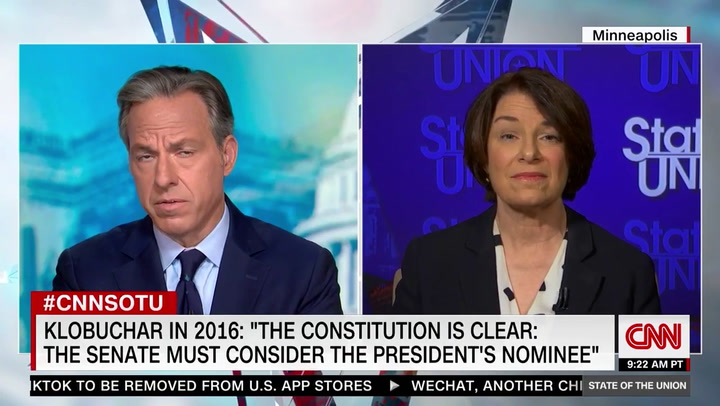 Klobuchar: We're Seeing A 'Revolution' In This Country, People 'Have Had It' with Trump
