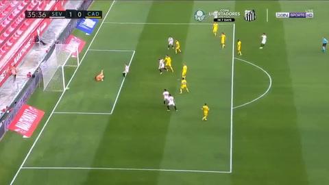 Sevilla 3-0 Cádiz (Liga española)