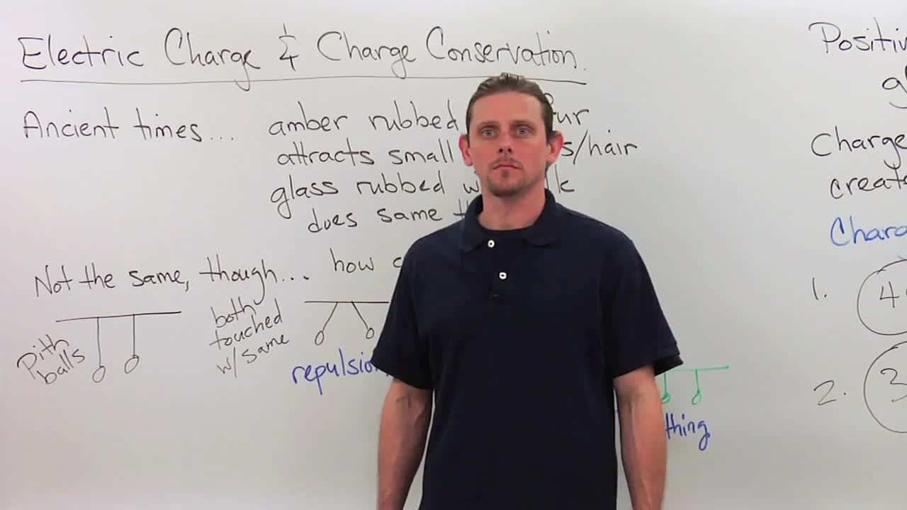 Conservation of Charge - Electric Charge - Physics Video by Brightstorm