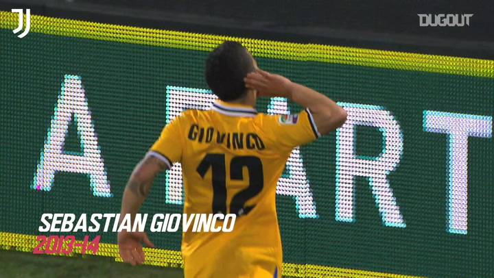 Juventus' top five goals at Udinese