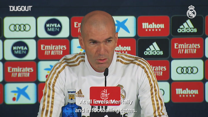 Zidane: 'We head into El Clásico in good shape'