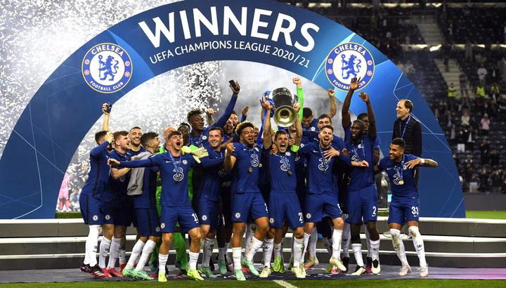 Gran fiesta del Chelsea en el vestuario tras ganar la Champions