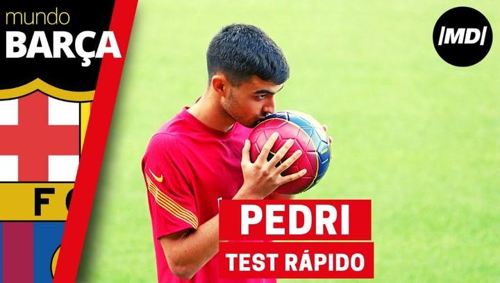 Pedri responde al test más futbolero de MD