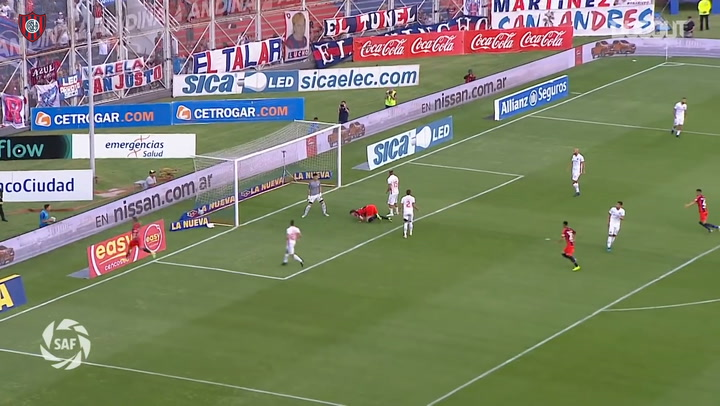Adolfo Gaich's goals with San Lorenzo