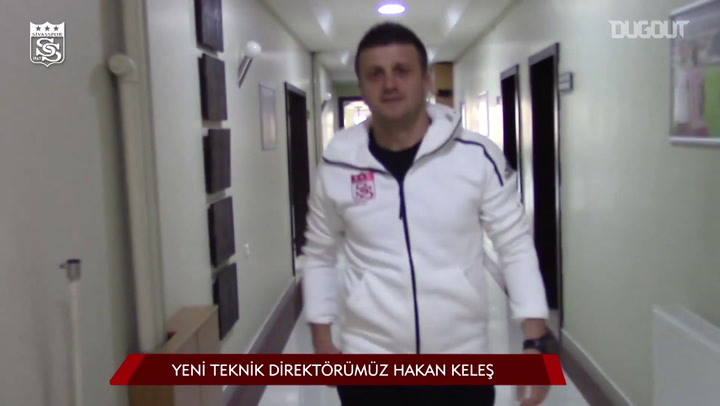 Hakan Keles is the New Head Coach of Sivasspor