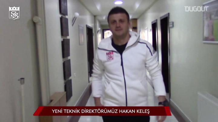 Hakan Keles is the New Head Coach of Sivasspor
