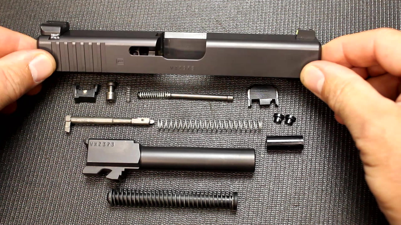 SootchZone: Complete Detailed Slide Disassembly for GLOCK Pistols