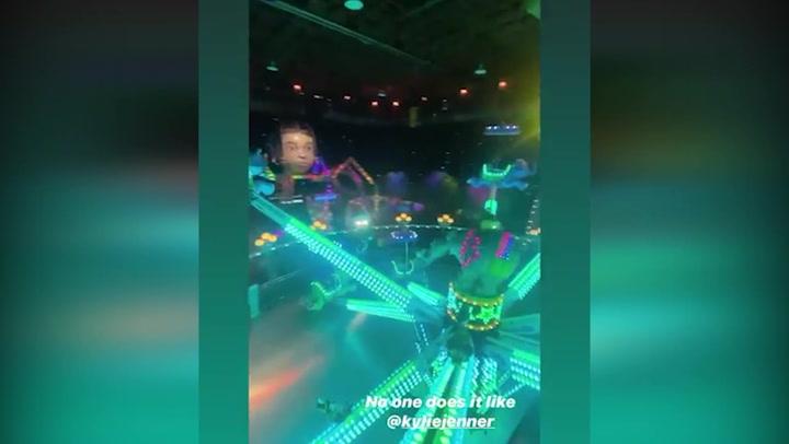 'Stormi World', el imponente parque temático construido para la fiesta de la hija de Kylie Jenner