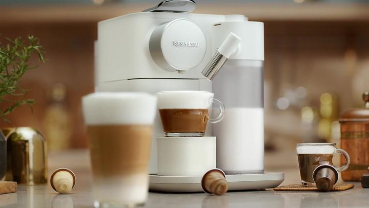 Preview image of Nespresso Gran Lattissima Coffee Machine with Inte video