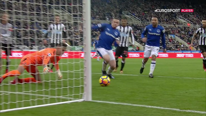 Highlights: Rooney sikrede Everton tre point mod Newcastle