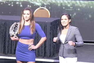 UFC 200 press conference staredowns