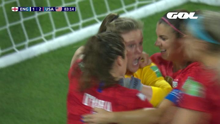 Mundial Femenino Francia 2019: Resumen del Inglaterra - Estados Unidos (1-2)