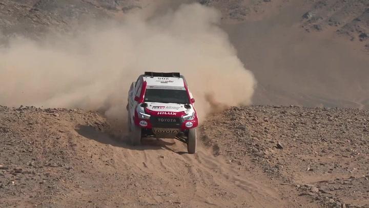 Alonso continúa con buenas sensaciones en el Ula-Neom Rally