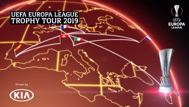 UEFA Europa League Trophy Tour 2019 | London | Kia