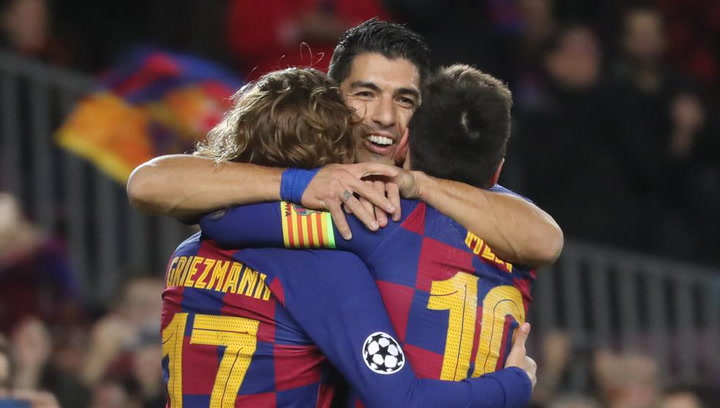 Vuelve el tridente del Barça cinco meses después