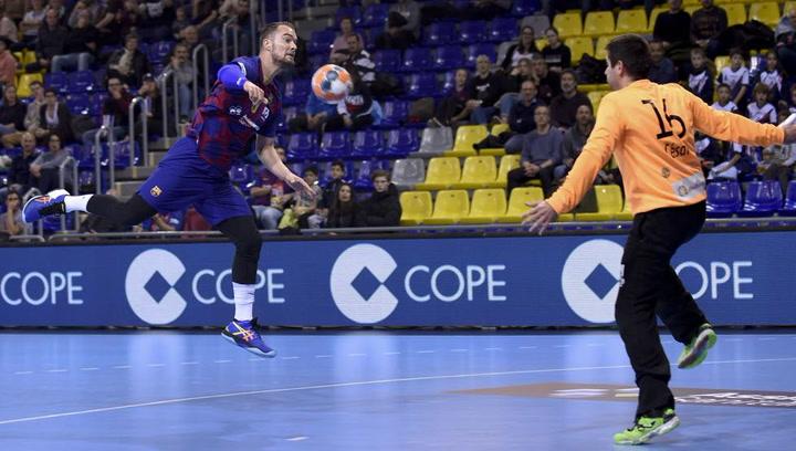 Así juega Casper Mortensen, jugador del FC Barcelona de Balonmano