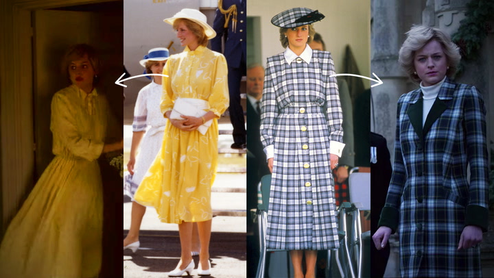 How Princess Diana's Fashion Choices Hinted at What Was Happening Behind Palace Doors