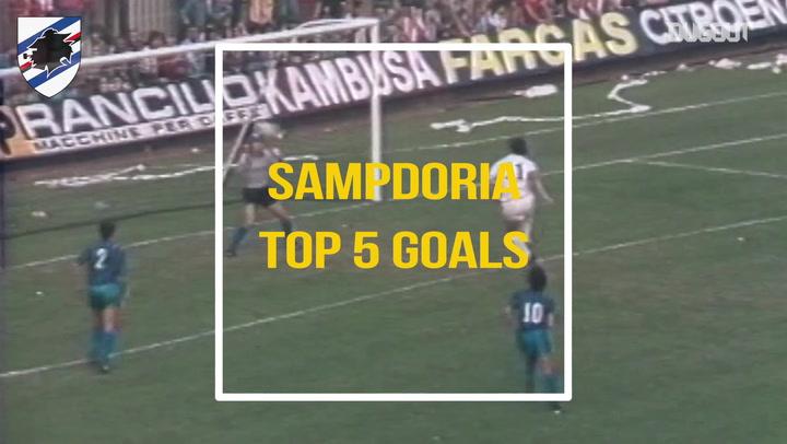 Sampdoria's Top Five Goals Against Inter