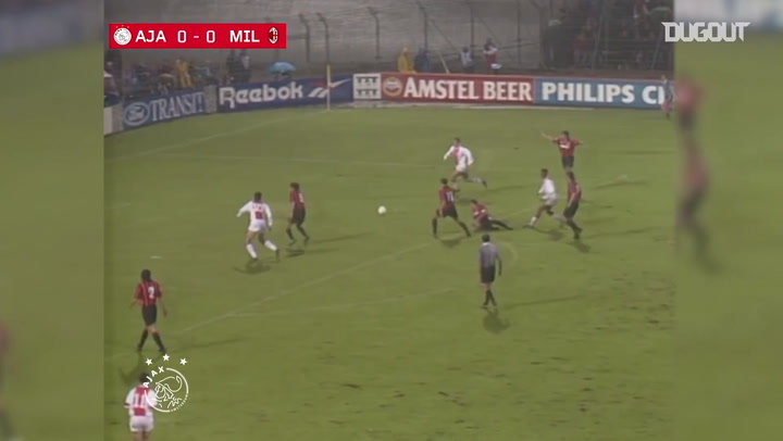 Ajax's classic goals against Serie A teams