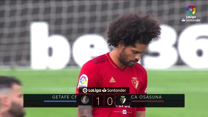 LaLiga Santander (Jornada 2): Getafe 1-0 Osasuna