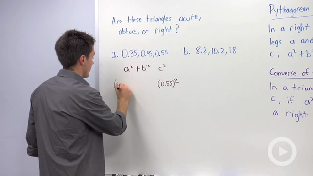 Converse of the Pythagorean Theorem - Problem 2