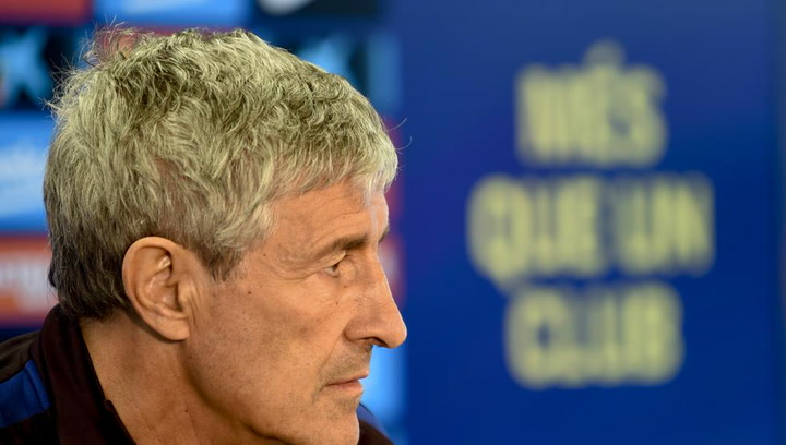 """Setién antes del Clásico: """"La única duda con Jordi Alba es si entrará de inicio"""""""