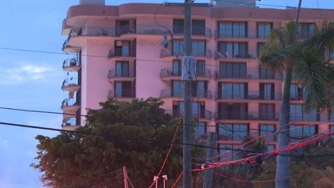 Derrumbe parcial de un edificio en Florida