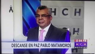 Muere el periodista Pablo Gerardo Matamoros por covid-19