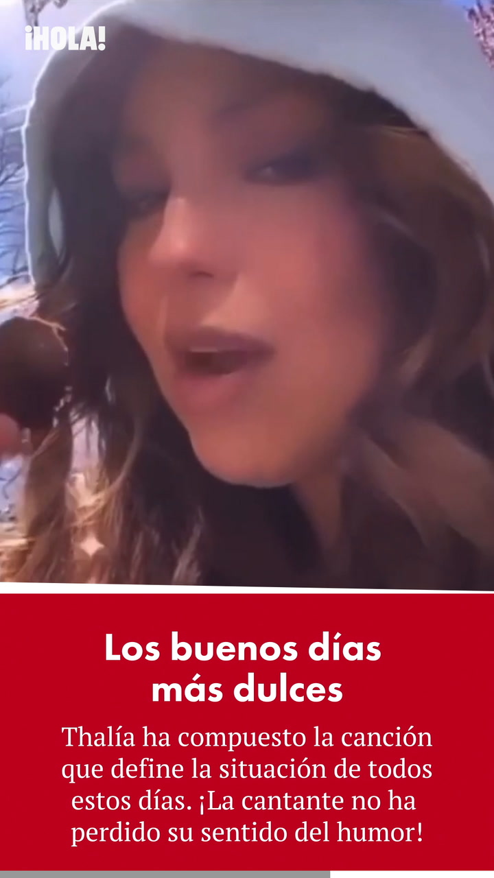La canción de Thalía con la que te sentirás identificada si estás comiendo muchos dulces