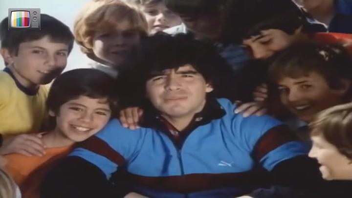 Publicidad Campaña Anti Drogas Diego Armando Maradona (1984)