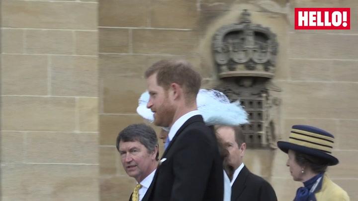 Prince Harry Arrives